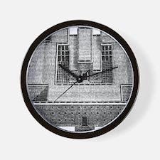solomons temple Wall Clock