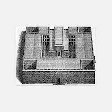 solomons temple 5'x7'Area Rug