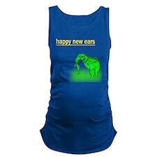 happy new ears_big elephant Maternity Tank Top