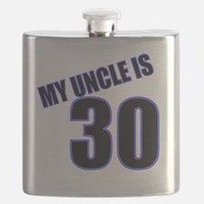 30-uncle is text Flask