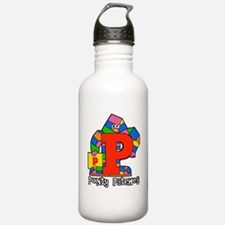 Pointy Patches Water Bottle