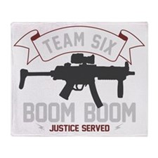 team six-boomboom1 Throw Blanket