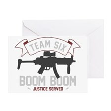 team six-boomboom1 Greeting Card
