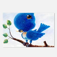 BlueBird Postcards (Package of 8)