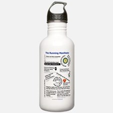 The Running Manifesto  Water Bottle