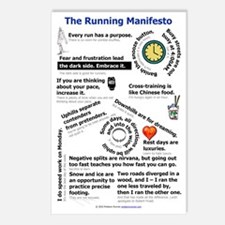 The Running Manifesto v2. Postcards (Package of 8)