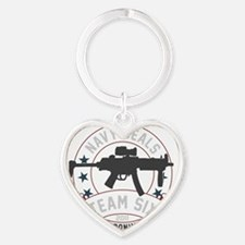 team six3 Heart Keychain