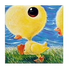 YellowCongaDuckie Tile Coaster