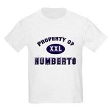Property of humberto Kids T-Shirt