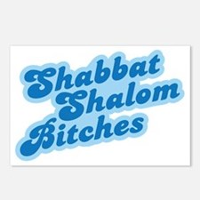 shabbat-01 Postcards (Package of 8)