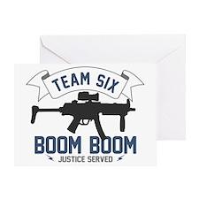team six-Boom2 Greeting Card