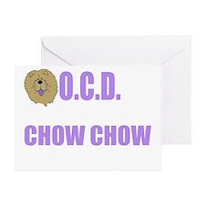 OCDchowwh Greeting Card