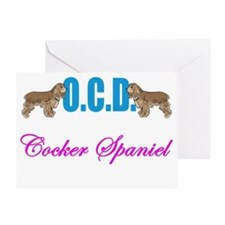 OCDcockerwh Greeting Card