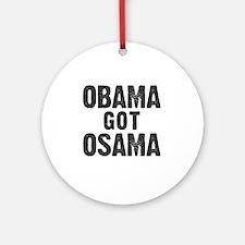 O Got OSAMA! Round Ornament
