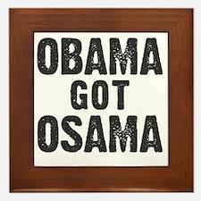 O Got OSAMA! Framed Tile