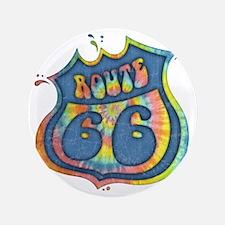 "tie-dye-rt66-LTT 3.5"" Button"
