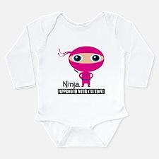 Ninja Girl Infant Bodysuit Body Suit