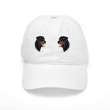 Rottweiler Mug Baseball Cap