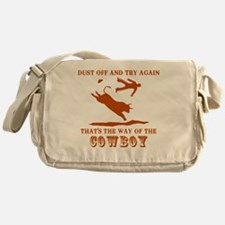 The way of the cowboy Messenger Bag