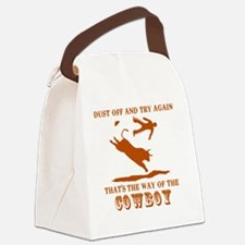 The way of the cowboy Canvas Lunch Bag