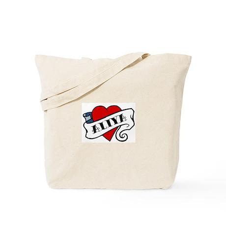Aliya tattoo Tote Bag