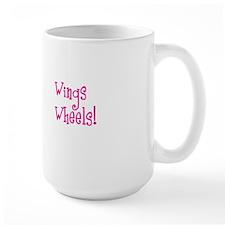 Some Angels Have Wheels Mug