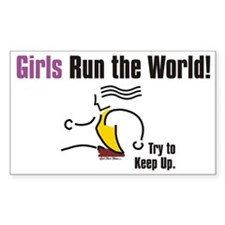 Girls run the world 1 Decal