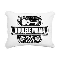 Ukulele Mama Rectangular Canvas Pillow