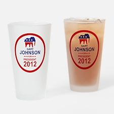 2012_gary_johnson_pres_main Drinking Glass
