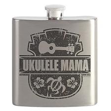 Ukulele Mama Flask