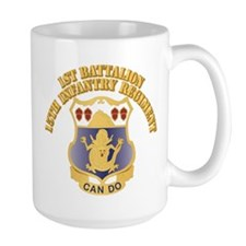 DUI - 1st Bn, 15th Infantry Regiment With T Mug
