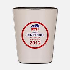 2012_newt_gingrich_pres_main Shot Glass