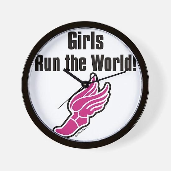 Girls run the world 2 Wall Clock