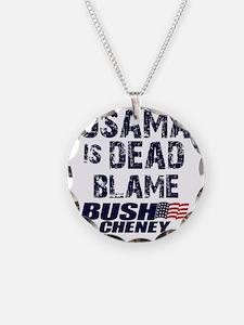 blame_bush_sht Necklace