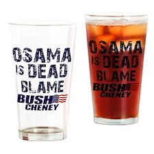 blame_bush_sht Drinking Glass