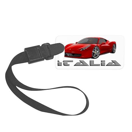 Ferrari-Italia2011 Small Luggage Tag