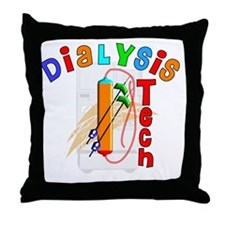 Dialysis Tech 2011 Throw Pillow