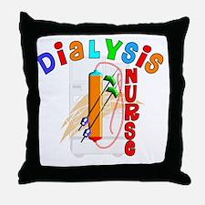 Dialysis Nurse 2011 Throw Pillow