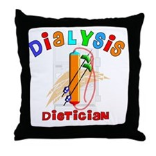 Dialysis Dietician 2011 Throw Pillow