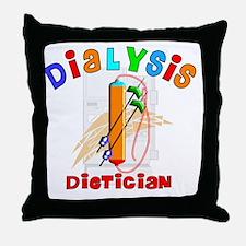 Dialysis Dietician 2011 Throw Pillow