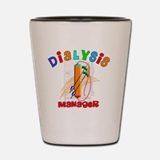 Dialysis Manager 2011 Shot Glass
