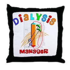 Dialysis Manager 2011 Throw Pillow
