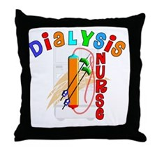 Dialysis Nurse 2011 Throw Pillow