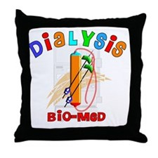 Dialysis biomed 2011 Throw Pillow