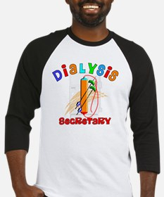 Dialysis secretary 2011 Baseball Jersey