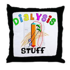 Dialysis STUFF Throw Pillow