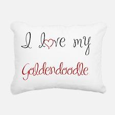 LOVE2 Rectangular Canvas Pillow