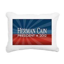 herman_cain_2012 Rectangular Canvas Pillow