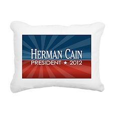 5x3oval_sticker_herman_c Rectangular Canvas Pillow