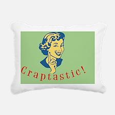 craptastic-OV Rectangular Canvas Pillow